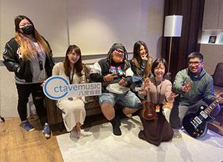 原住民YouTuber古拉蒞臨八度音創音樂室