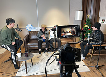 偶像男團C.T.O成員J.win成立的廠牌「J.WINBRAVECREW®」蒞臨八度音創音樂室